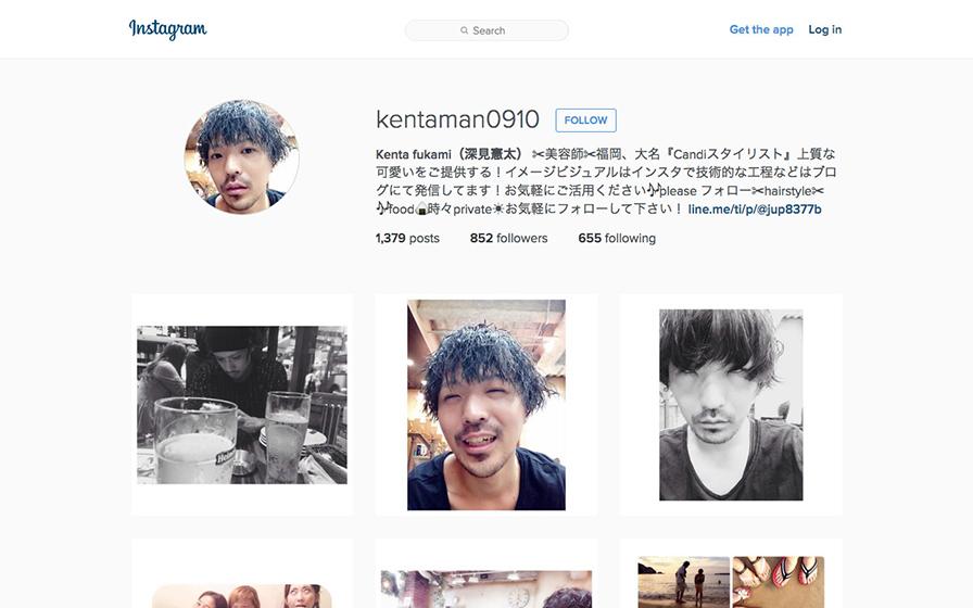 kentaman0910のインスタグラムページの画像