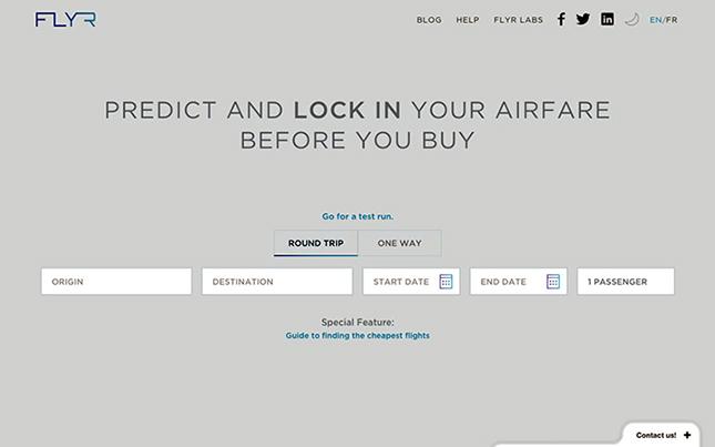 FLYR(フライヤ)のホームページ